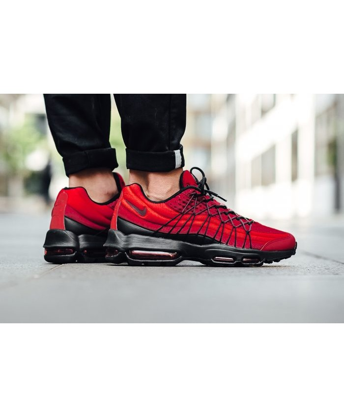 air max 95 ultra rouge et noir