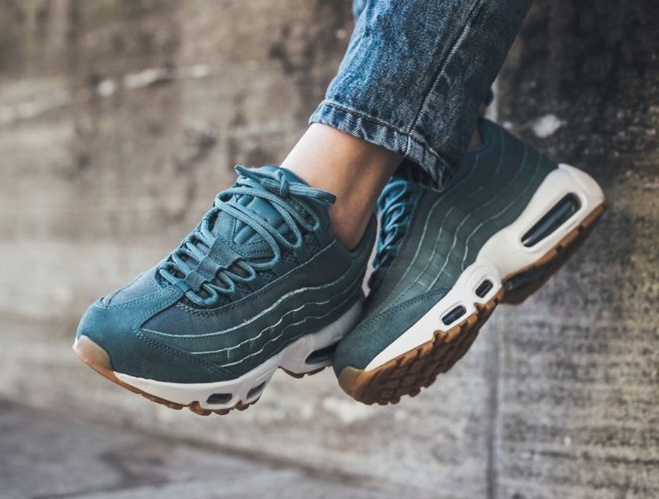 uk availability f26a5 8e66a Femme Nike Air Max 95 Smokey Bleu